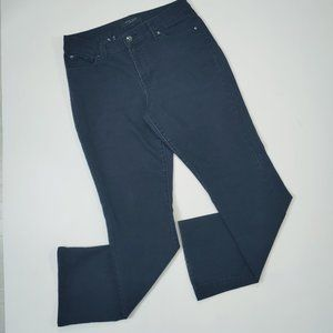 "Nine West ""West End Bootcut"" black jeans in Sz10"